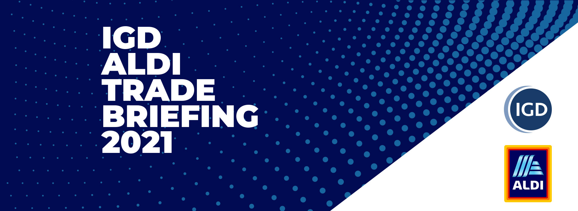 IGD Aldi trade briefing header